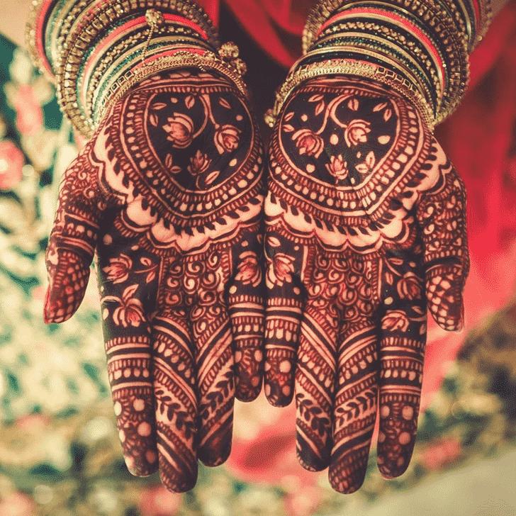 Fine Badghis Henna Design