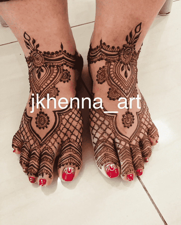 Awesome Badghis Henna Design
