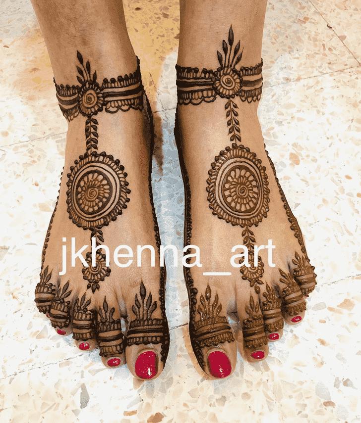 Magnetic Badghis Henna Design