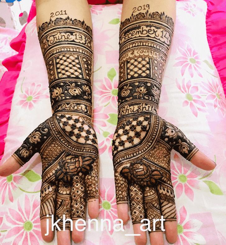 Magnificent Badghis Henna Design