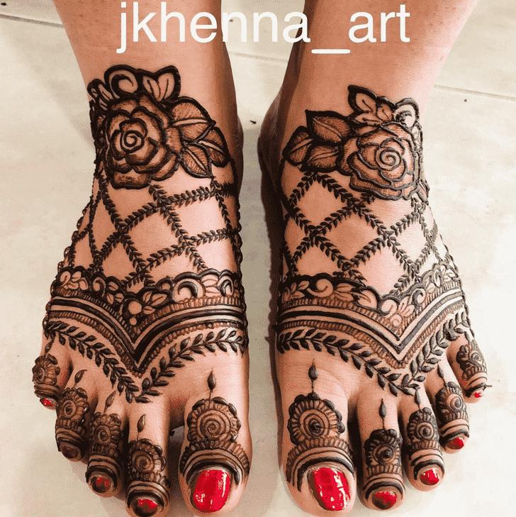 Marvelous Badghis Henna Design