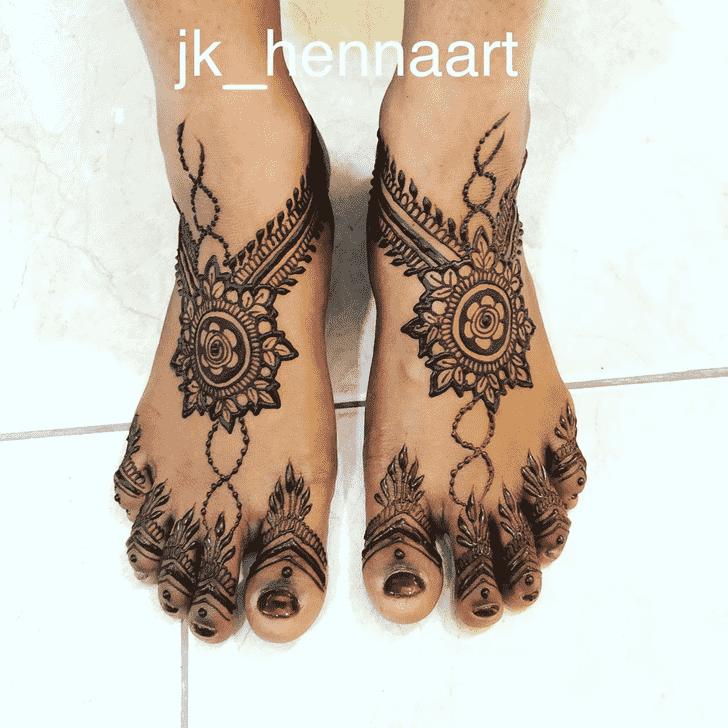 Pleasing Badghis Henna Design