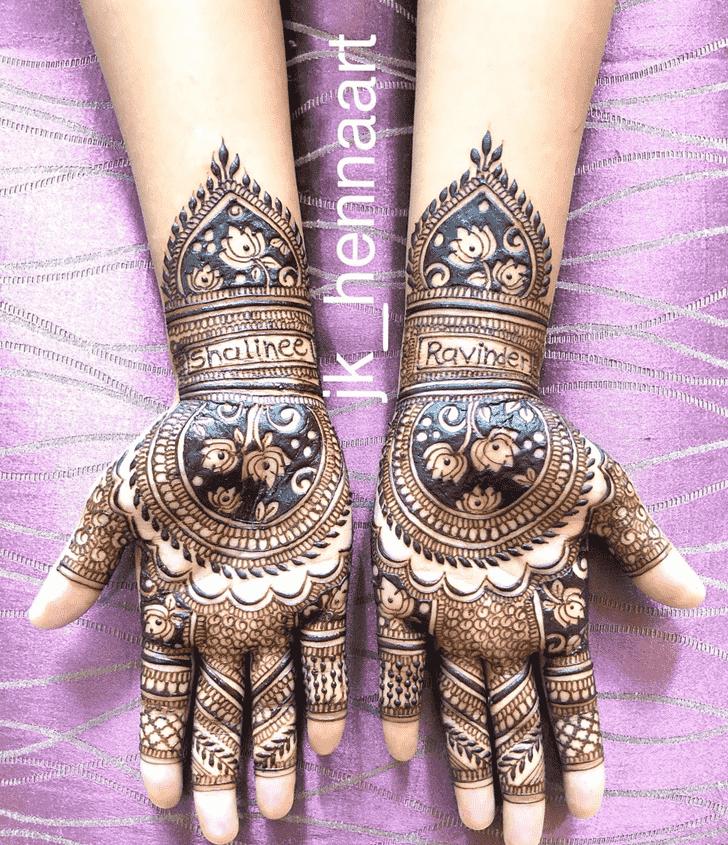 Ravishing Badghis Henna Design
