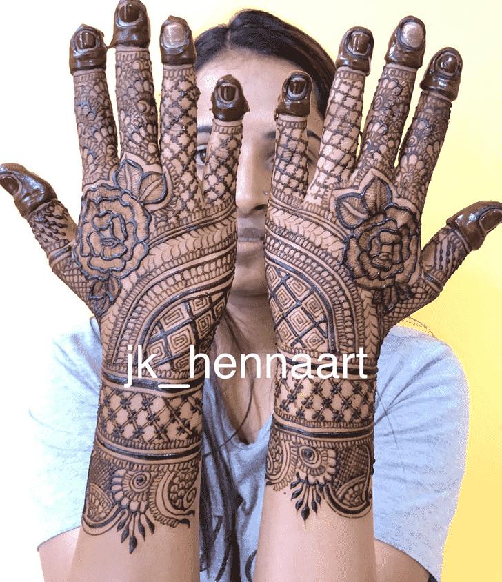 Resplendent Badghis Henna Design