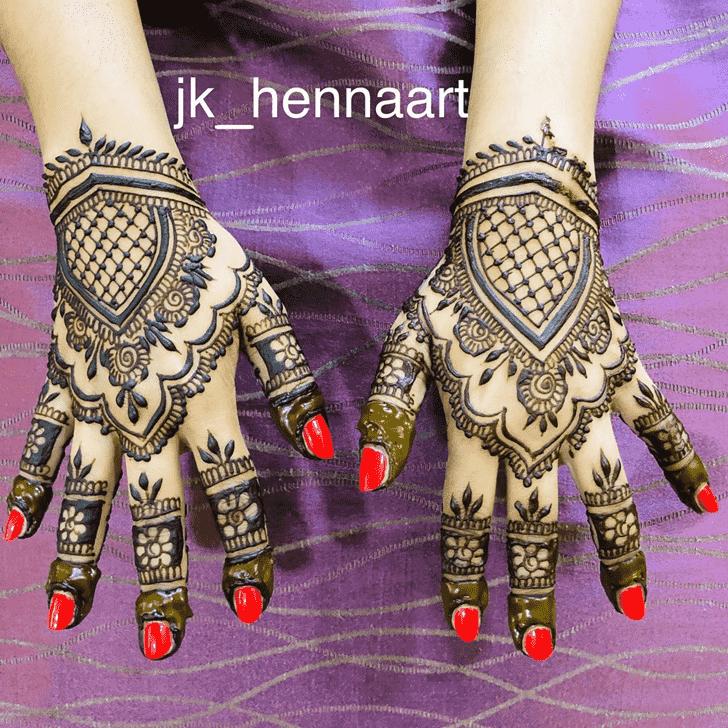 Splendid Badghis Henna Design
