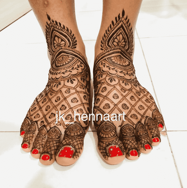 Superb Badghis Henna Design