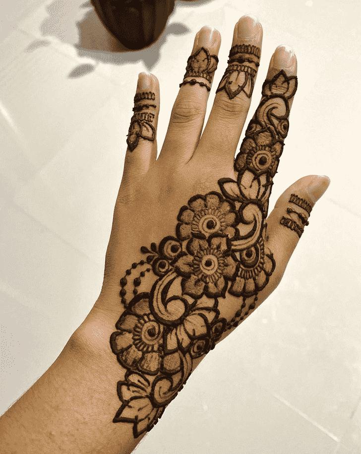 Alluring Bangalore Henna Design