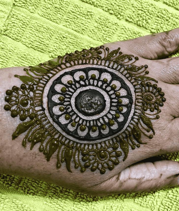 Appealing Bangalore Henna Design