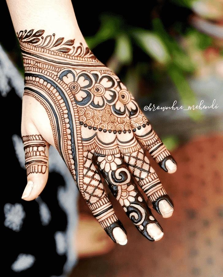 Bewitching Bangalore Henna Design