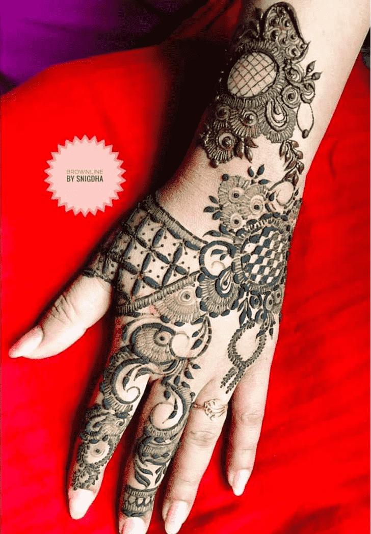 Charming Bangalore Henna Design