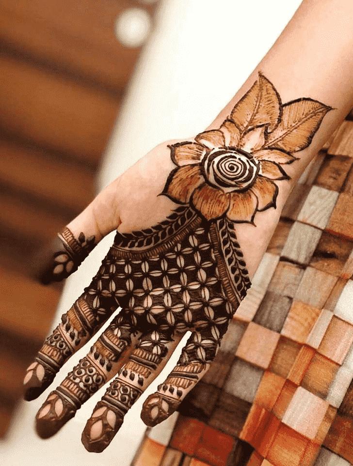 Captivating Barcelona Henna Design