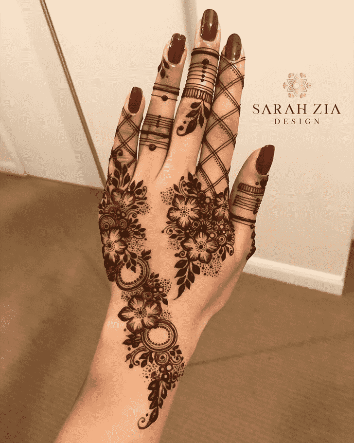 Angelic Beautiful Henna Design