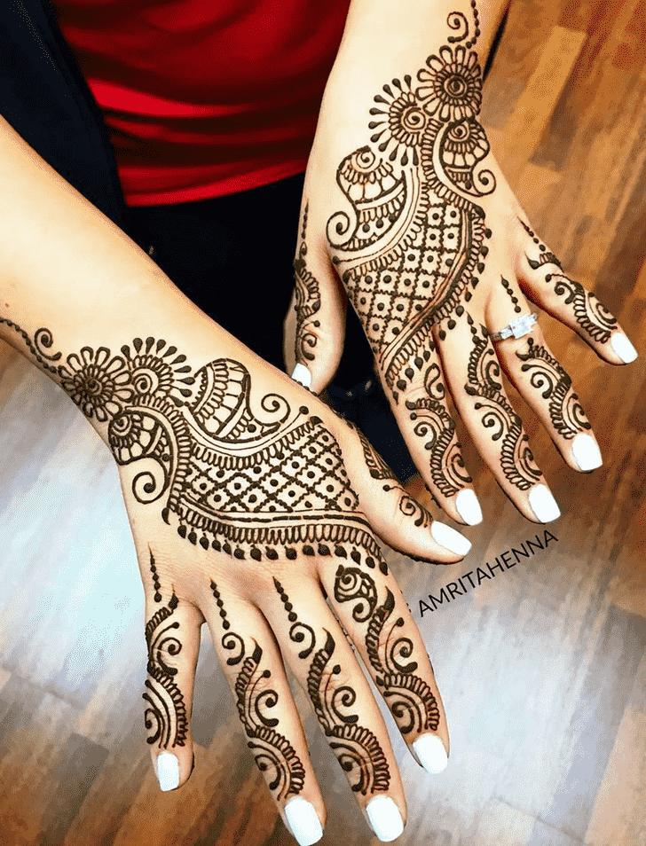 Captivating Beautiful Henna Design