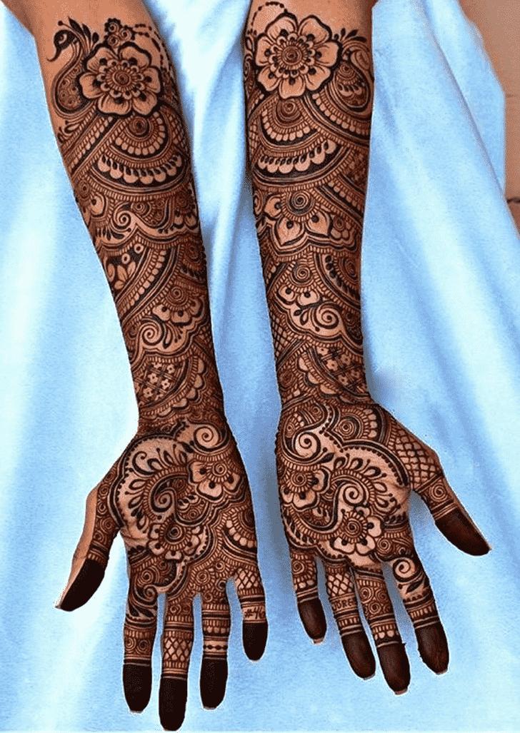 Classy Beautiful Henna Design