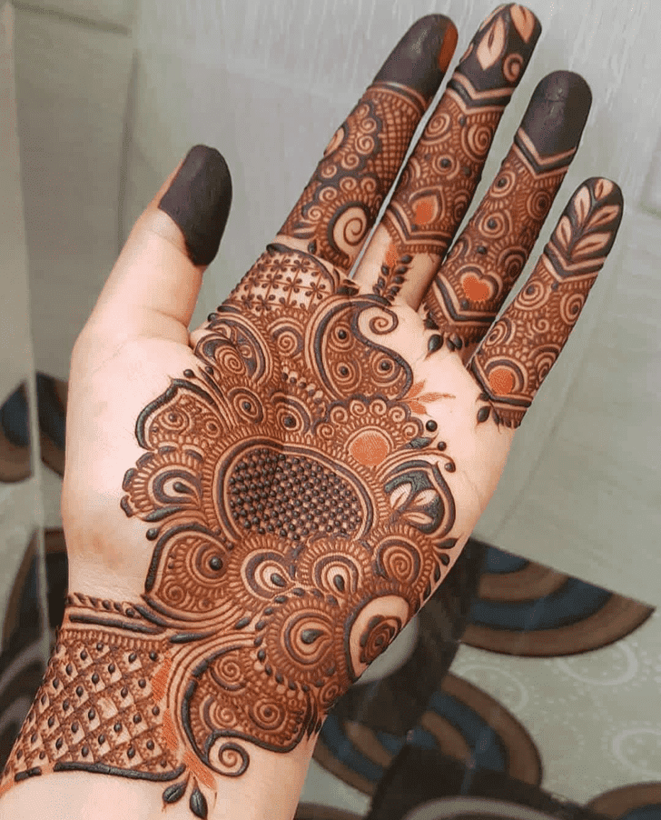 Bewitching Bengali Henna Design