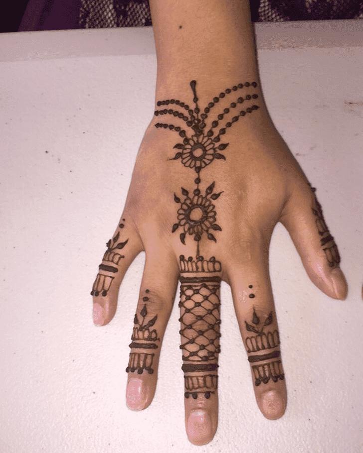 Angelic Bharatpur Henna Design