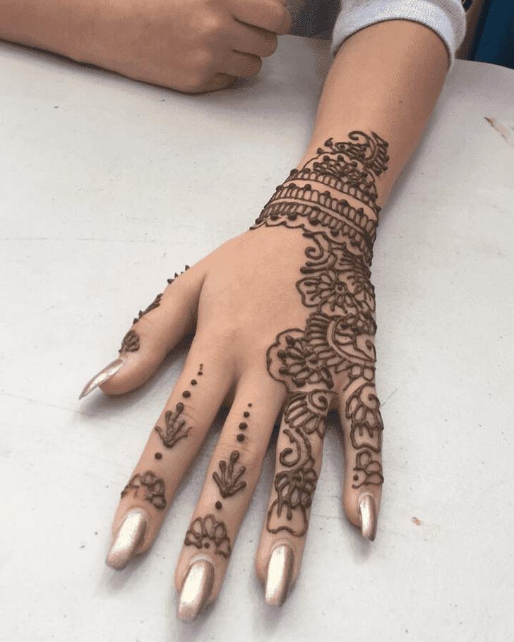 Beauteous Bharatpur Henna Design