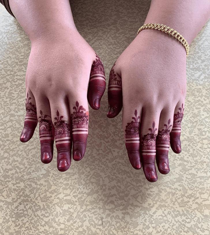 Classy Bharatpur Henna Design