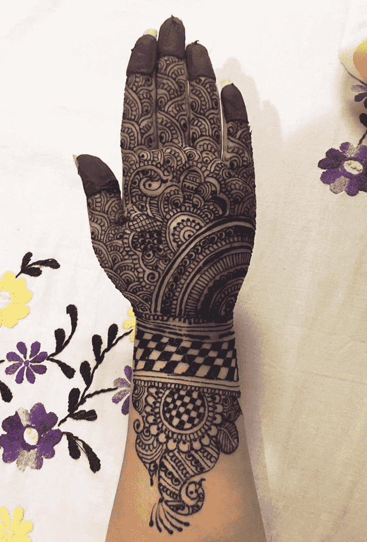 Admirable Bhopal Mehndi Design