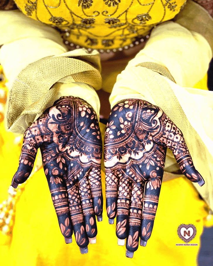Adorable Bhopal Henna Design