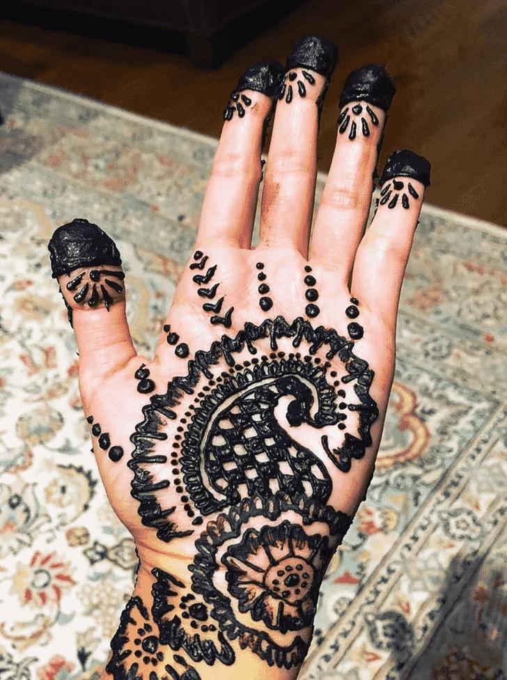 Appealing Bhopal Henna Design
