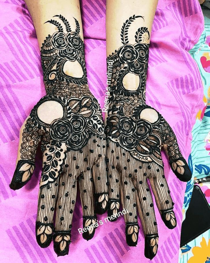 Bewitching Bhopal Henna Design