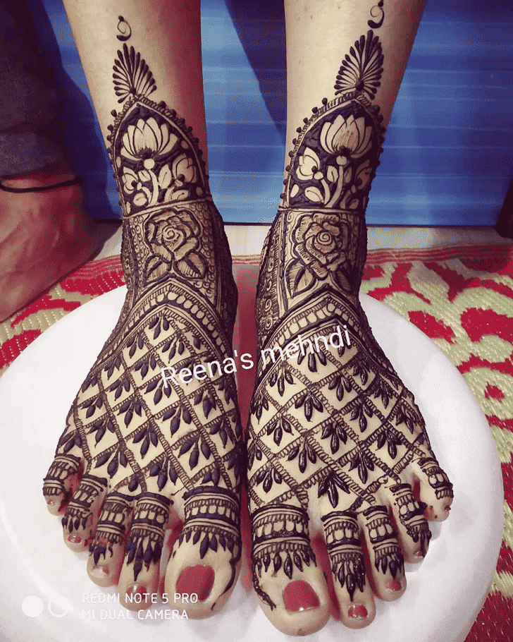 Captivating Bhopal Henna Design