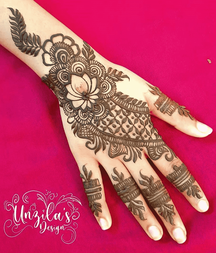 Admirable Bhubaneswar Mehndi Design