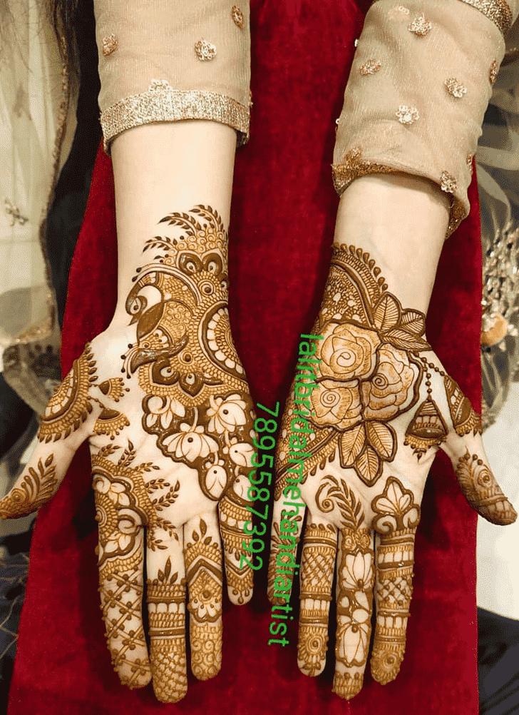 Dazzling Bhubaneswar Henna Design