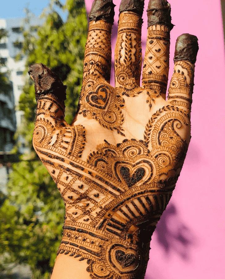 Enthralling Bhubaneswar Henna Design