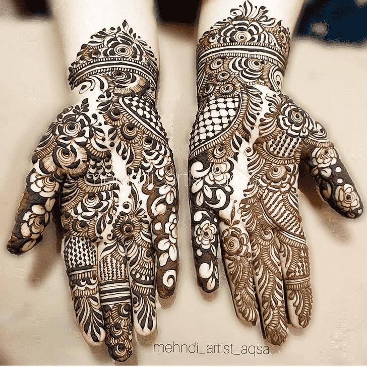 Excellent Bhubaneswar Henna Design