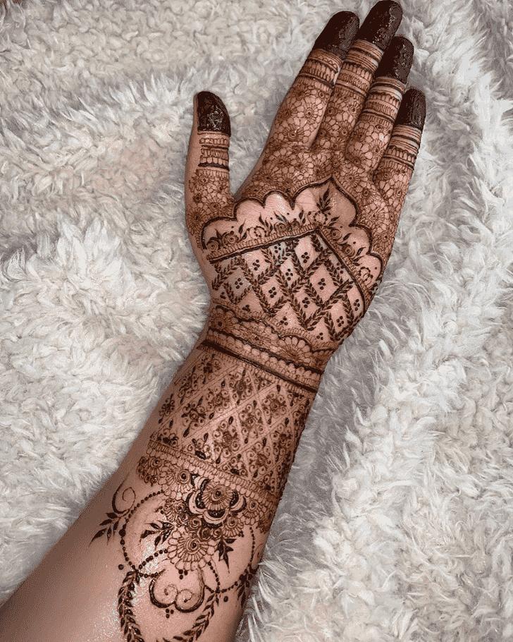 Awesome Bhubaneswar Henna Design