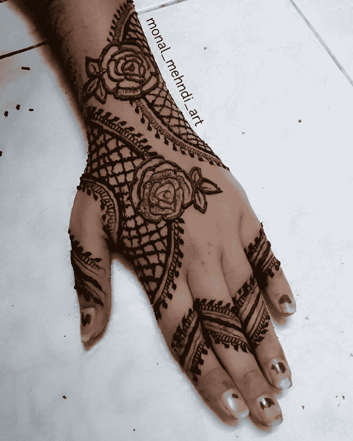 Ideal Bhubaneswar Henna Design