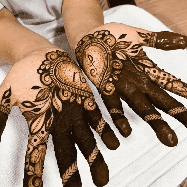 Magnificent Bhubaneswar Henna Design