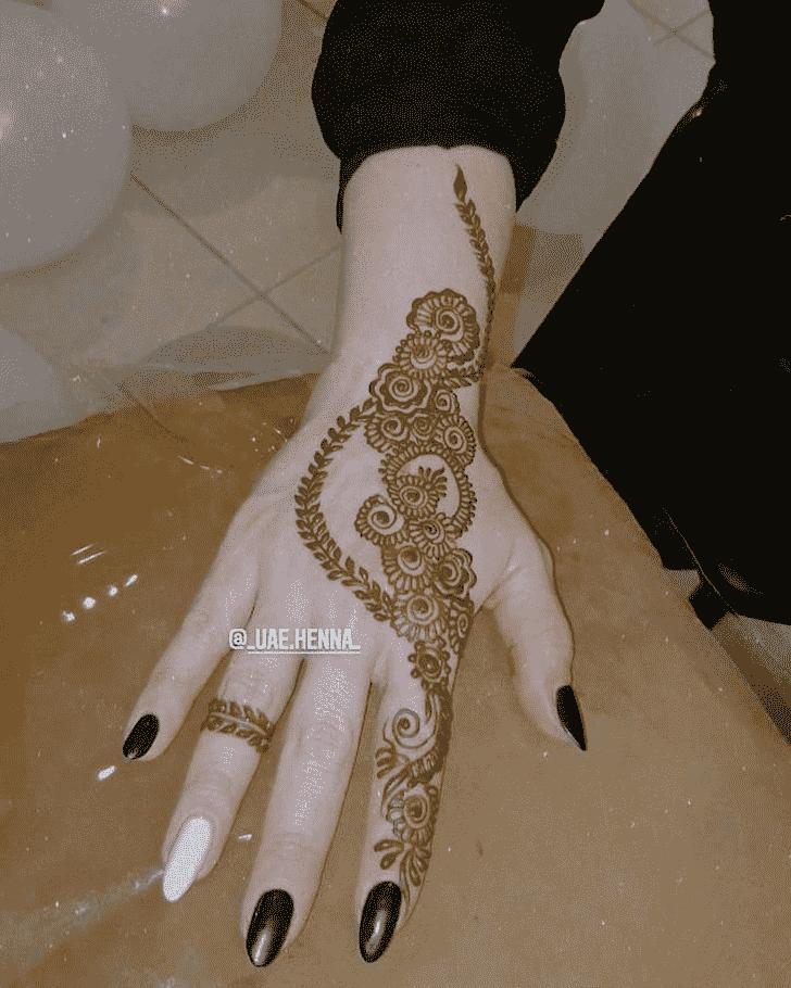 Pretty Bhubaneswar Henna Design