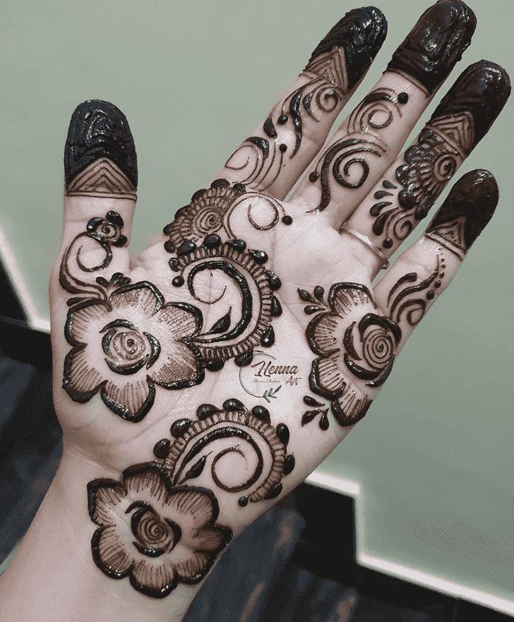 Radiant Bhubaneswar Henna Design