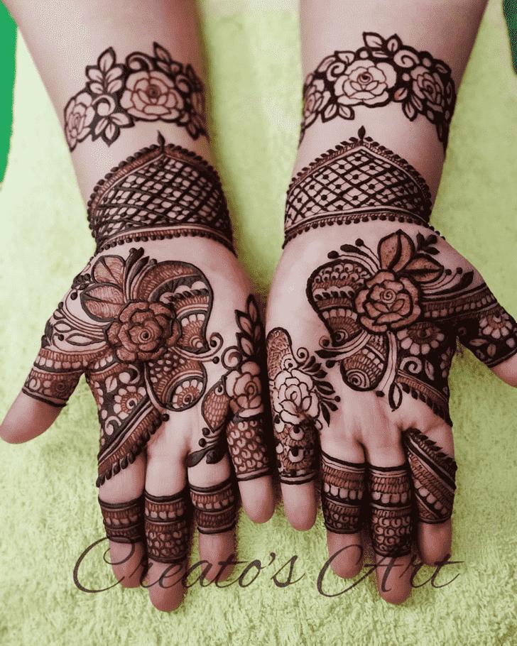 Slightly Bhubaneswar Henna Design