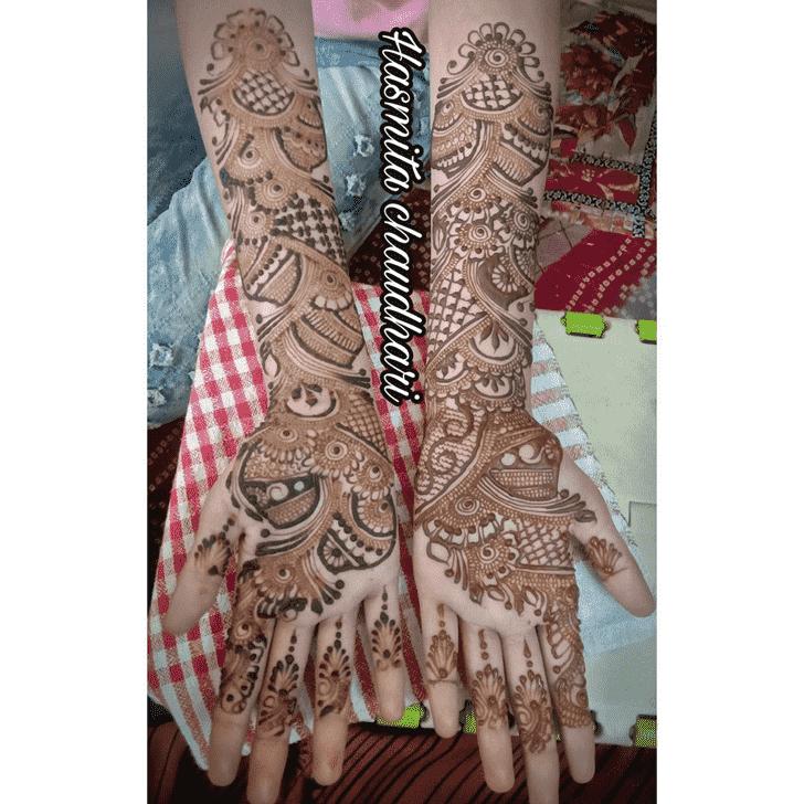 Superb Bhubaneswar Henna Design