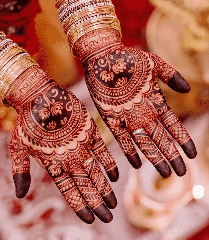 Alluring Bhuj Henna Design