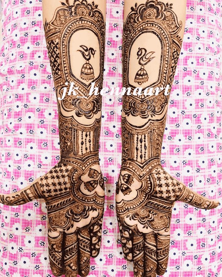 Angelic Bhuj Henna Design