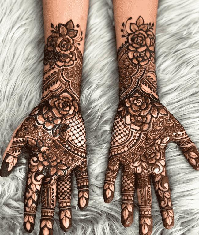 Appealing Biratnagar Henna Design