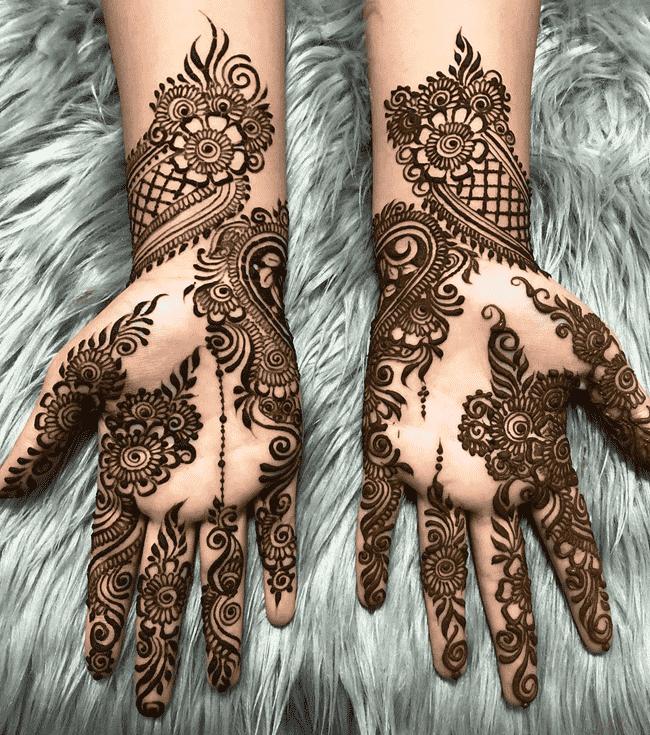 Bewitching Biratnagar Henna Design