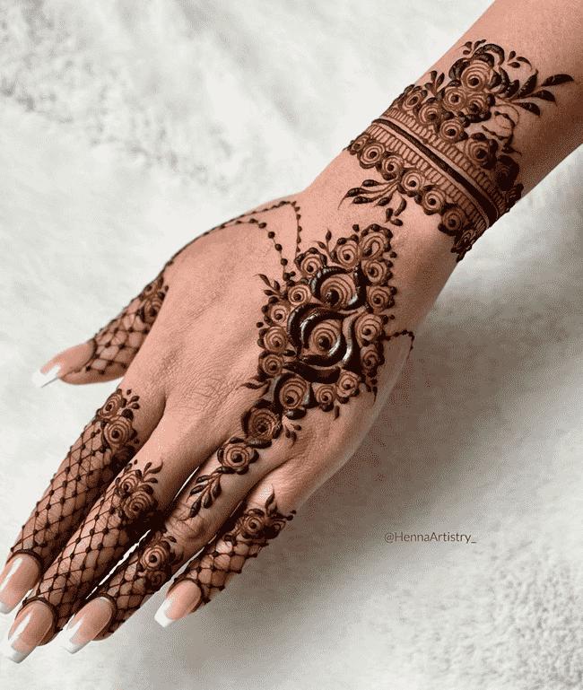 Charming Biratnagar Henna Design