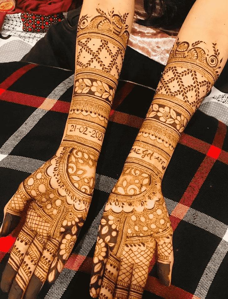 Captivating Bogra Henna Design