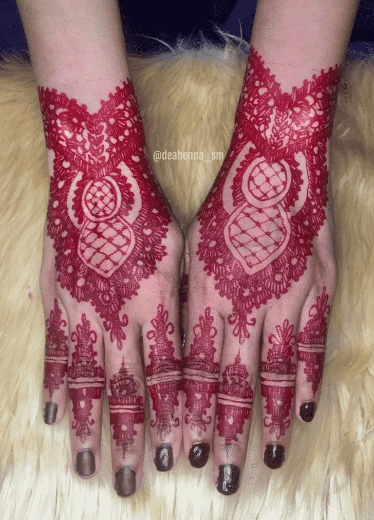 Classy Bogra Henna Design