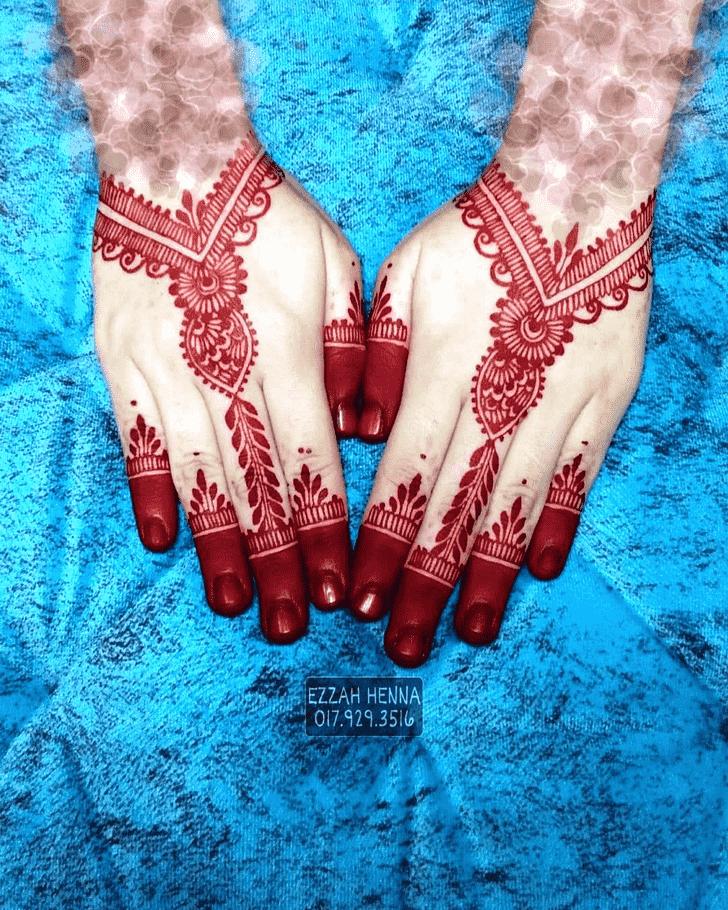 Adorable Bollywood Henna design