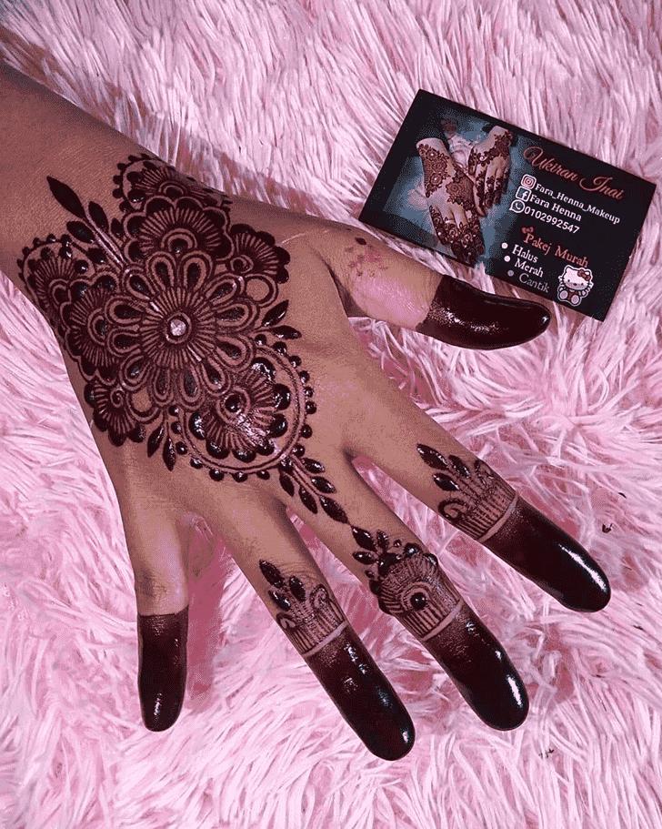Angelic Bollywood Henna design