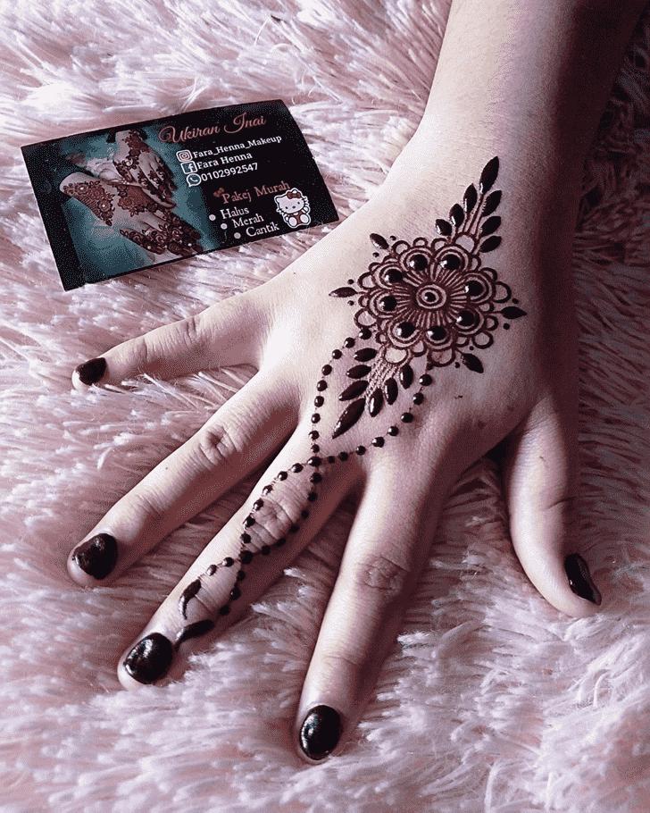Beauteous Bollywood Henna design