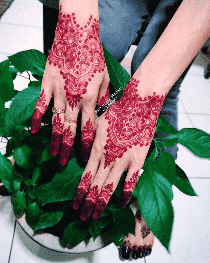 Bewitching Bollywood Henna design
