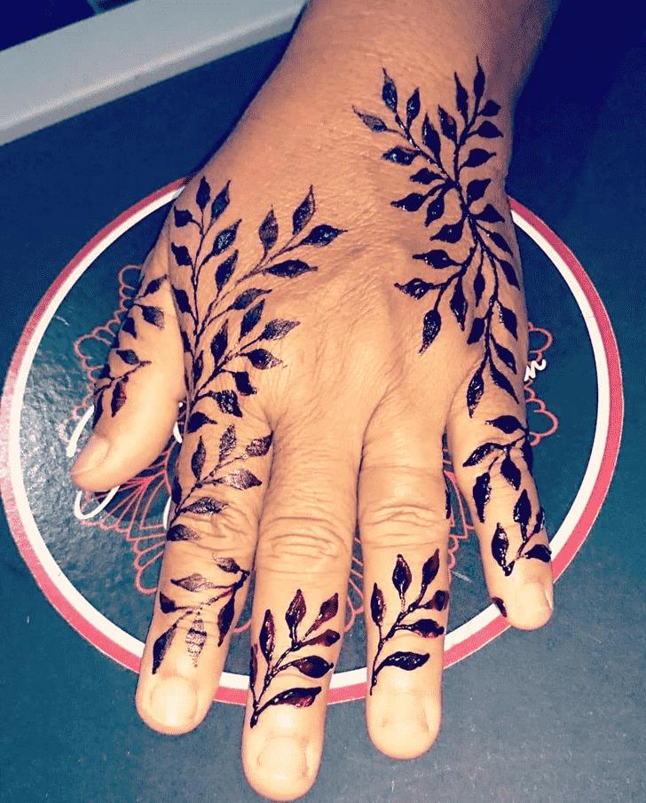 Angelic Boston Henna Design